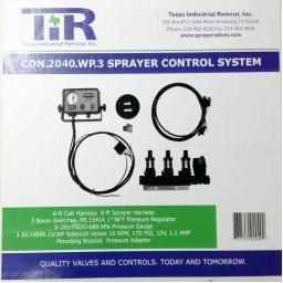 Control System 3 Elec Solenoid, HP HV WP,  TIR CON.2040.WP.3