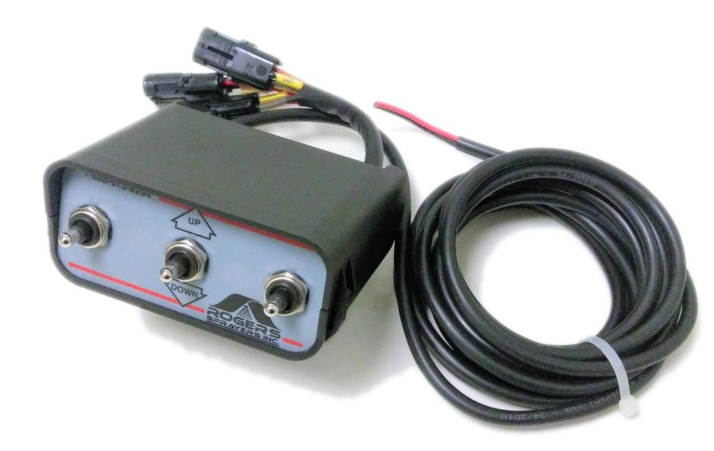 Salvarani Control Box w/power & actuator feed, 911309-A
