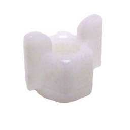 White Wing Nut 6X4 PVC, 200043, Salvarani