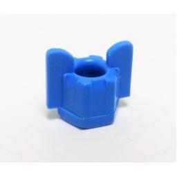 Blue Wing Nut 6X4 PVC, 200044, Salvarani