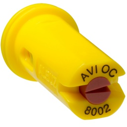 Albuz, AVI-OC 8002 Yellow Air Induction off center spray nozzle,AVI-OC8002 (Albuz, AVI-OC8002)