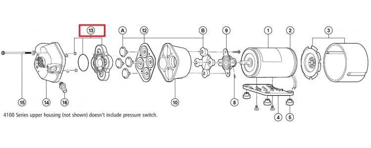 Repair Kit Flojet Check Valve Assembly 20407-020