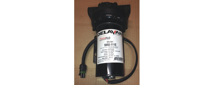 "Delavan 12VDC Pump 5850-111E (bypass) 5.0 gpm 1/2"" FNPT Powerflo"