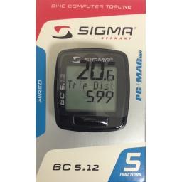 Speedometer LP Walkers, Sigma Bike Computer BC 5.12