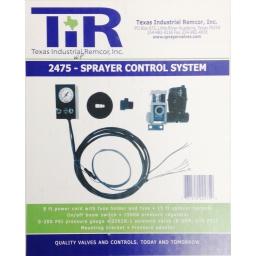 Control System 1 Elec Solenoid HP LV. TIR 2475 WP Sprayer Control System