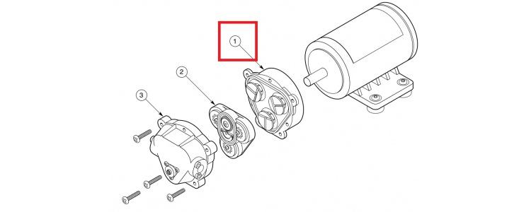 Repair Kit 7812 Lower Housing, Delavan Pumps, LHA-7802