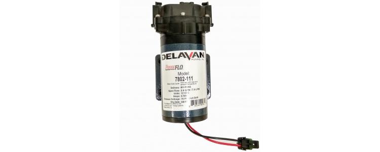 Delavan 7802-111 PowerFLO Electric Diaphragm Pump (Bypass) with Quickattach