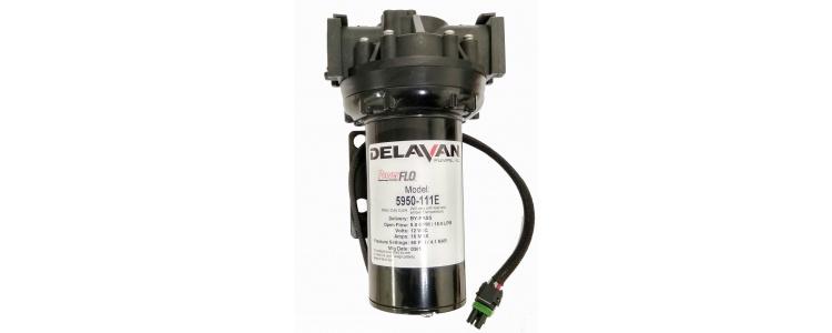 Delavan 5950-111E PowerFLO Electric Diaphragm Pump (Bypass) with Quickattach