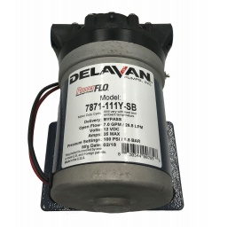 Delavan 7871-111Y FB3  PowerFLO Electric Diaphragm Pump (Bypass)