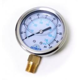 Gauge Pressure 100 psi Wet