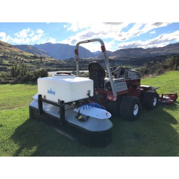 "Tractor Mount 70"" 50 US gallon sprayer"