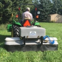 "Tractor Mount 86""  50 US gallon Sprayer"